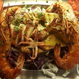 paros blue dolphin restaurant seafood
